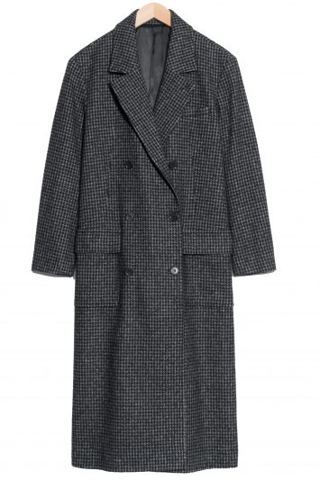 Click to buy & Other Stories checked coat
