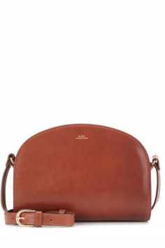 Click to Buy A.P.C. Demi Lune Leather Bag