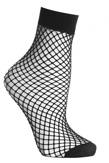 Click to buy Topshop black fishnet socks