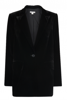 Click to Buy Whistles Relaxed Velvet Blazer