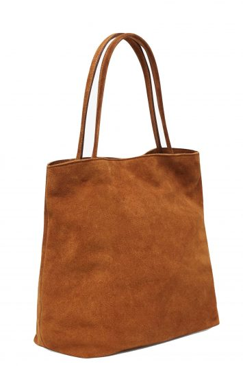 Click to Buy French Connection Lottie Suede Tote Bag