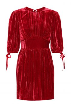 Click to Buy Alexa Chung Velvet Dress
