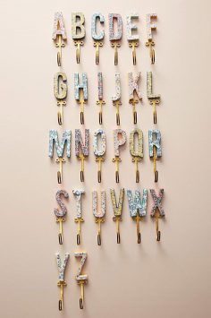 Click to Buy Anthropologie Letter Hook