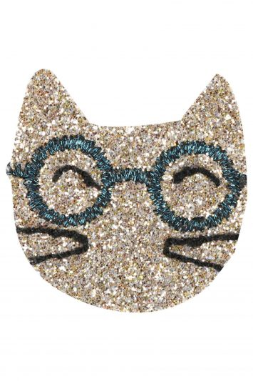 Click to Buy Des Petits Hauts Gold Cat Pin