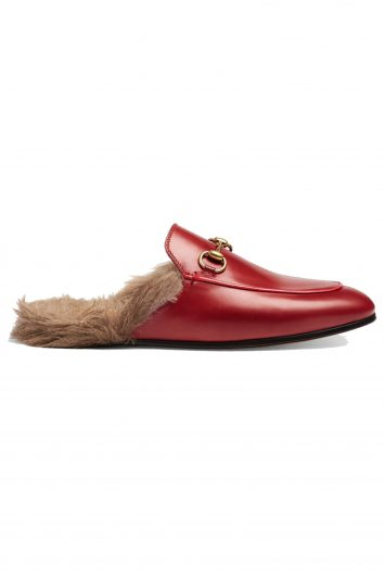 Click to Buy Gucci Red Slippers