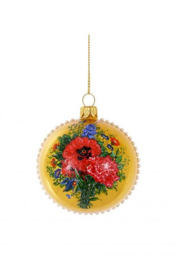 Click to Buy Harrods Floral Bauble