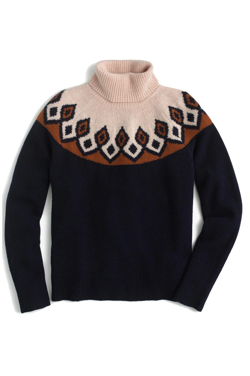Click to Buy J. Crew Fair Isle Sweater