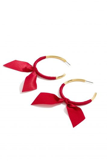 Click to Buy J. Crew Ribbon Earrings