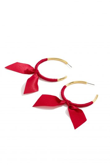 Click to Buy J. Crew Ribbon Wrapped Earrings