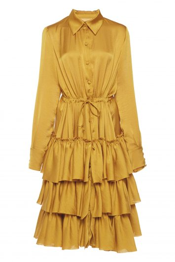 Click to Buy Martin Grant Ruffled Shirt Dress