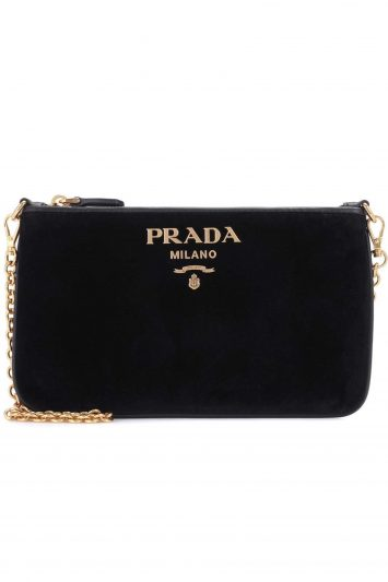 Click to Buy Prada Velvet Clutch