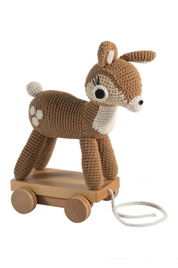 Click to Buy Sebra Pull Along Fawn