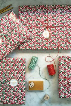 Click to Buy John Lewis Berry Wrapping Paper