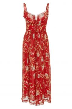 Click to Buy Zimmermann Red Jumpsuit