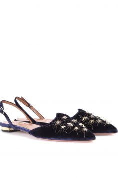 Click to Buy Aquazzura-Nairobi-Velvet-Ballerinas