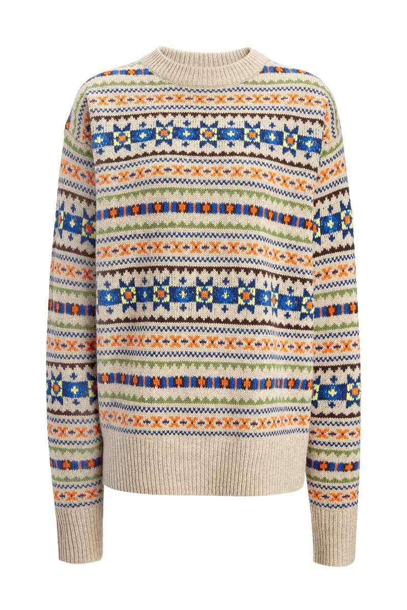 Click to Buy Joseph Fairisle Jumper