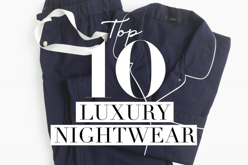 Luxury-nightwear