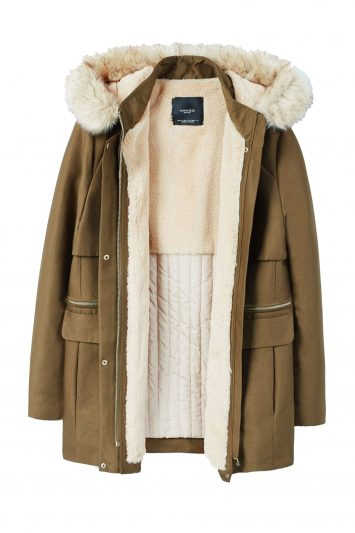 Click to Buy Mango-Faux-Fur-Quilted-Parka