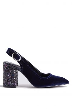 Click to Buy Marks-and-Spencer-Velvet-Glitter-Heels