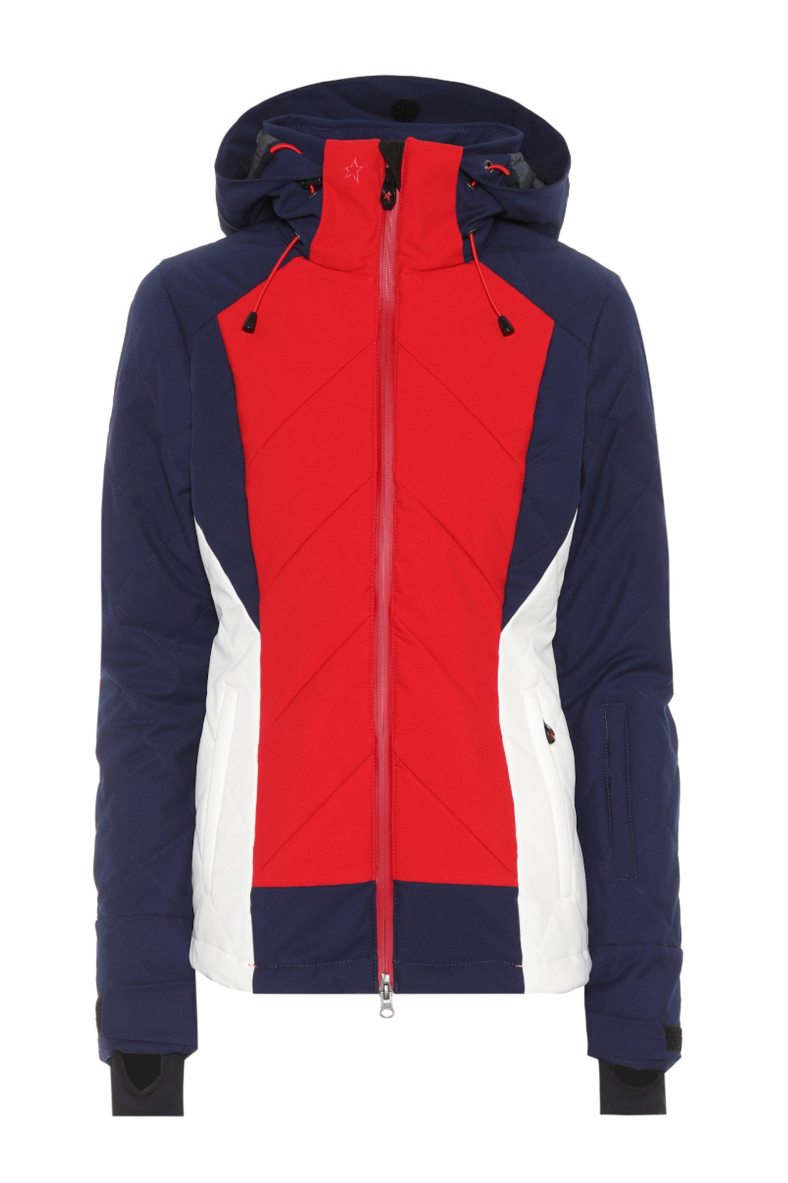 Buy Perfect Moment Tignes Hooded Blue Ski Jacket Online b712a5aed96e