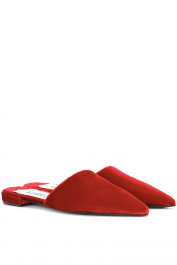 Click to Buy Prada-Velvet-Slippers