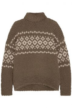 Click to Buy Vince Fair Isle Sweater