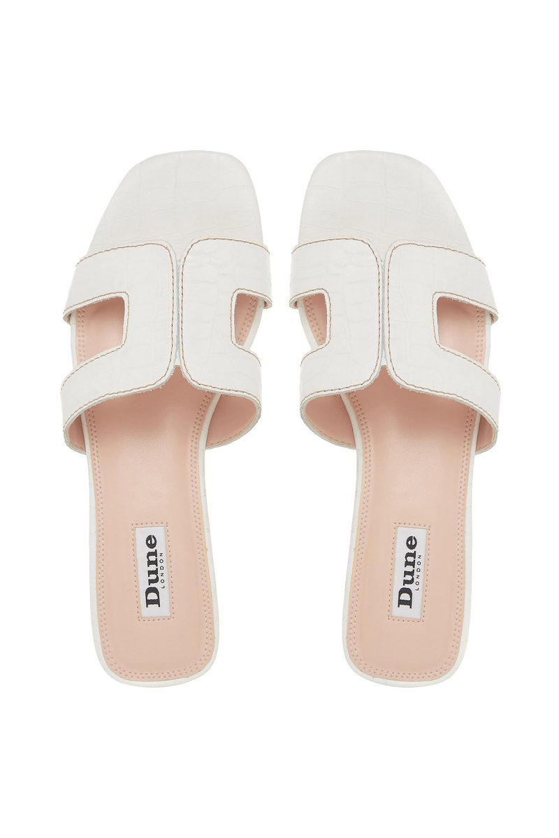 Click to Buy Dune Loupe Slider Sandals