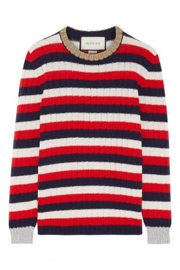 Click to Buy Gucci Striped Sweater