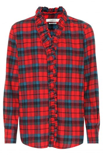 Click to Buy Isabel Marant Étoile Check Shirt