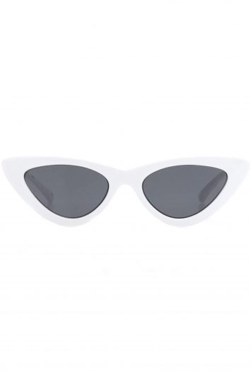 Click to Buy La Specs White Cat Eye Sunglasses