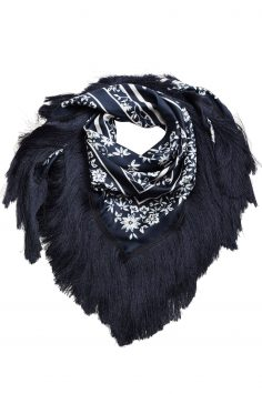 Click to Buy Mango Fringes Scarf