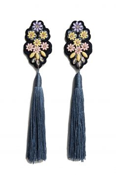 Click to Buy Mango Tassel Earrings Online