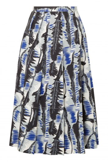 Click to Buy Marni Printed Pleated Skirt
