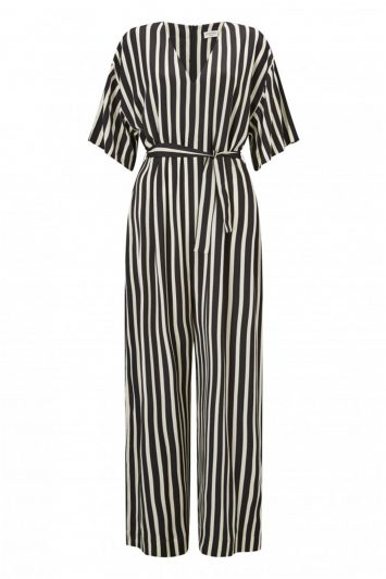 Click to Buy A'Journey Striped Jumpsuit