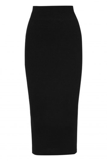 Click to Buy Rick Owens Stretch Skirt Online