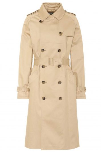 Click to Buy A.P.C Greta Trench