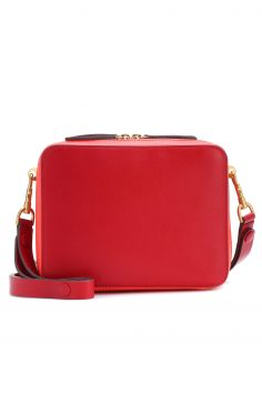 Click to Buy Anya Hindmarch Leather Shoulder Bag Online