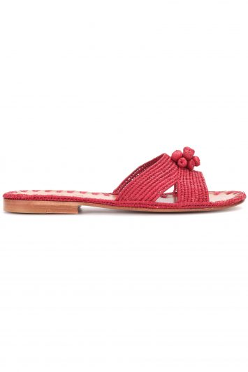 Click to Buy Carrie Forbes Raffia Slides