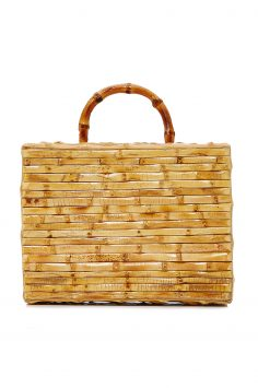 Click to Buy Glorinha Paranagua Bamboo Tote Bag Online