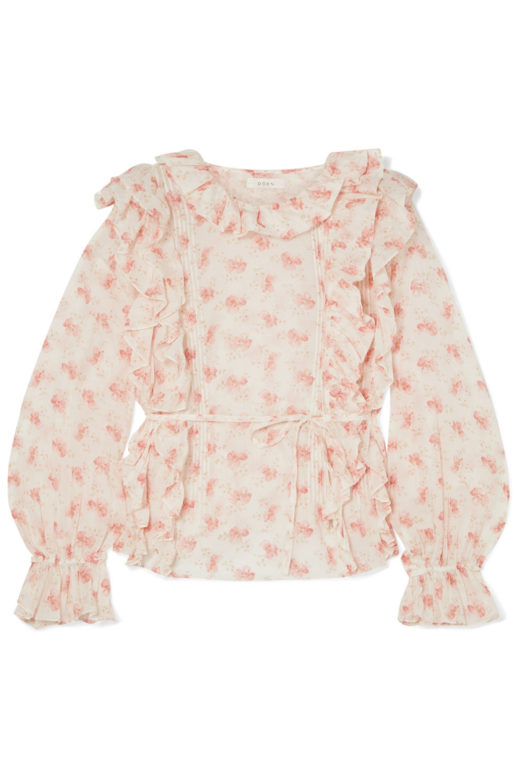 Luca-ruffled-floral-print-cotton-voile-blouse