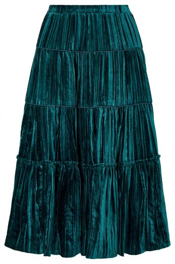 Michael-Kors-Velvet-Skirt