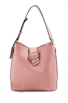 Click to Buy Topshop Pink Bucket Bag