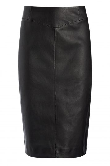Click to Buy Joseph-Leather-Skirt
