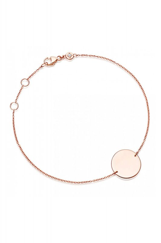 Click to Buy Astley Clarke Engravable Disc Bracelet