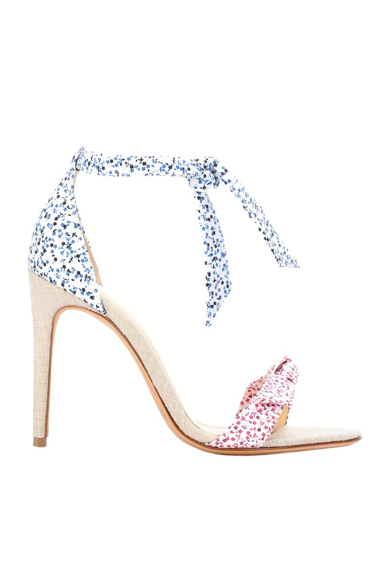 Click to Buy Alexandra Birman Lovely Clarita Floral Printed Sandals