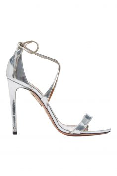 Click to Buy Aquazzura Linda Metallic Sandals