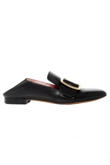 Click to Buy Bally Janelle Leather Loafers