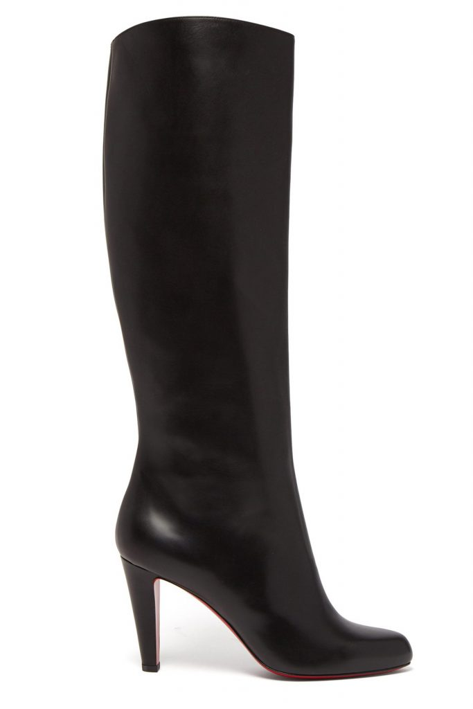 outlet store 18e13 65a0d Buy Christian Louboutin Marmara 85 Leather Knee-high Boots Online