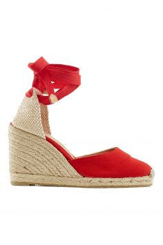 Click to Buy Castañer Carina Canvas Lace-Up Espadrilles