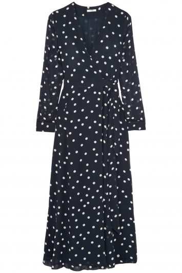 Click to Buy Ganni-Polka-Dot-Wrap-Dress
